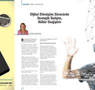 Dijital Dönüşüm Sürecinde Stratejik İletişim, Kültür Değiştirir