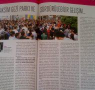 Taksim Gezi Parkı ve Sürdürülebilir Gelişim